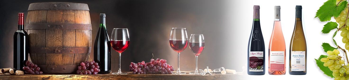 Etiquettes vins, bières et spiritueux personnalisées en ligne adhésive autocollante