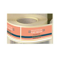 Etiquettes agroalimentaires papier alu brillant quadri sans blanc adhésive autocollante