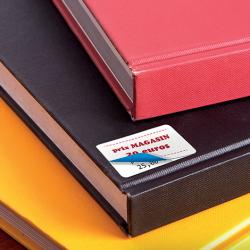 Etiquette adhésive autocollante - Etiquettes boutiques papier couché opaque