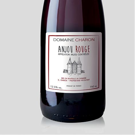 Etiquettes vins, bières et spiritueux papier canne fibre adhésive autocollante