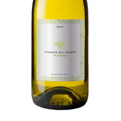 Etiquette adhésive autocollante - Etiquettes vins, bières et spiritueux papier alu brillant quadri sans blanc