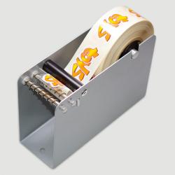 Etiquette adhésive autocollante - Dévidoir manuel métal Pinewood largeur maxi 50mm