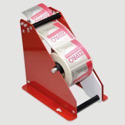 Etiquette adhésive autocollante - Dévidoir manuel métal Pinewood largeur maxi 80mm
