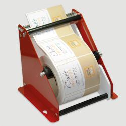 Etiquette adhésive autocollante - Dévidoir manuel métal Pinewood largeur maxi 150mm