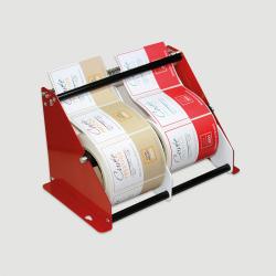 Etiquette adhésive autocollante - Dévidoir manuel métal Pinewood largeur maxi 250mm