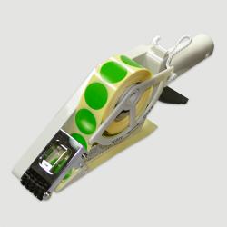 Etiquette adhésive autocollante - Applicateur manuel largeur maxi de 20 à 30mm
