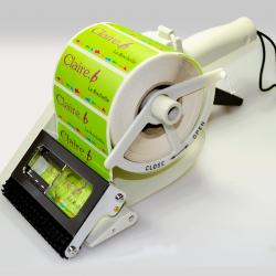 Etiquette adhésive autocollante - Applicateur manuel largeur maxi de 55 à 100mm