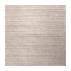 Etiquettes cosmétiques polyester alu brossé quadri avec blanc adhésive autocollante