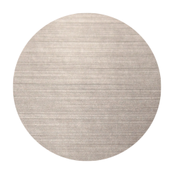 Etiquettes cosmétiques polyester alu brossé quadri sans blanc adhésive autocollante